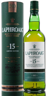Laphroaig Scotch Single Malt 15 Year 750ml